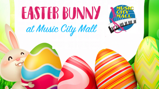 Easter Bunny Music City Mall @ Music City Mall