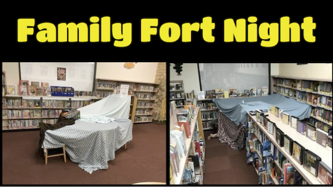 Family Fort Night @ The Colony Library