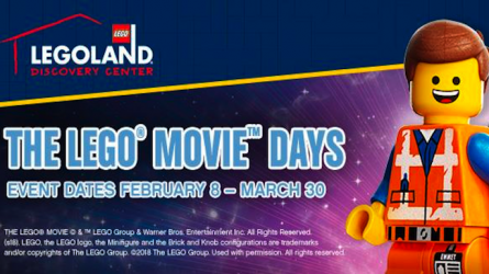 Lego Movie Days at Legoland Discovery Center