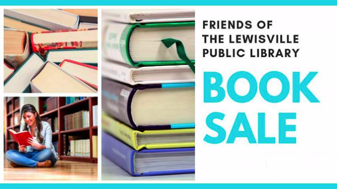 Used Book Sale in Lewisville @ Lewisville Library