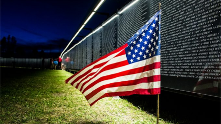 The Wall That Heals in DFW