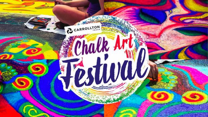 Carrollton Chalk Art Festival @ Mary Heads Carter Park