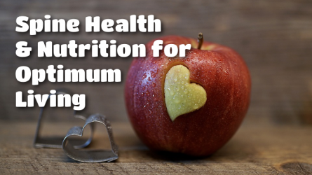 Spine Health and Nutrition for Optimum Living