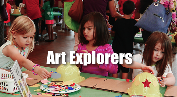 Art Explorers @ Coppell Library