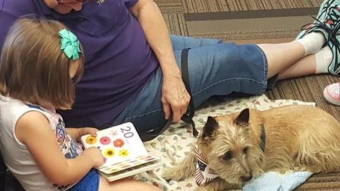 READ to a Therapy Dog @ Little Elm Library