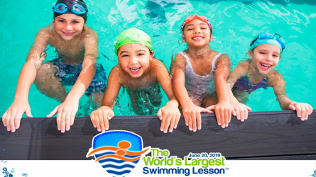Worlds Largest Swimming Lesson Lewisville