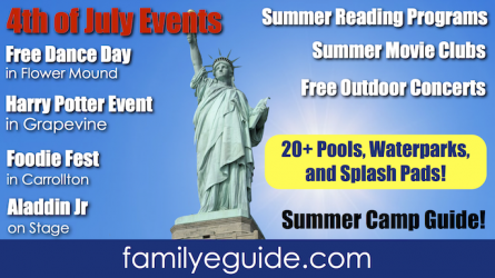 DFW Events 2019 June 28 – July 4