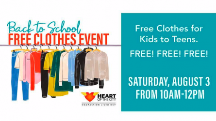 Back to School Clothing Giveaway
