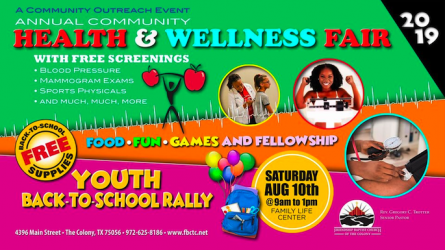 Back to School Rally and Health Fair