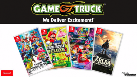 Nintendo Game Truck Event
