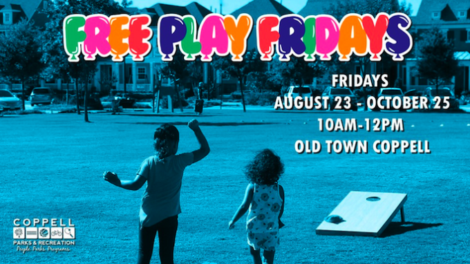 Free Play Fridays @ Coppell Square at Oldtown