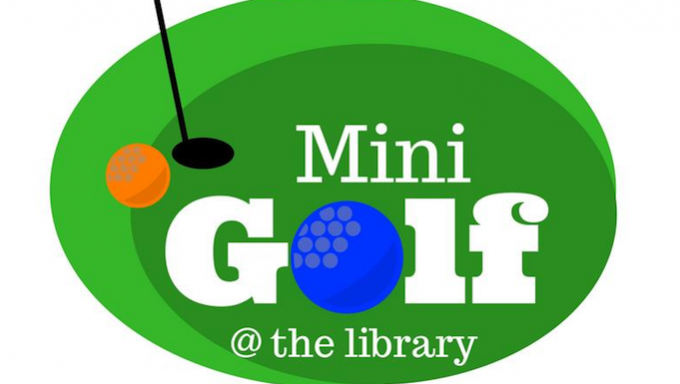 Library Putt Putt @ The Colony Library