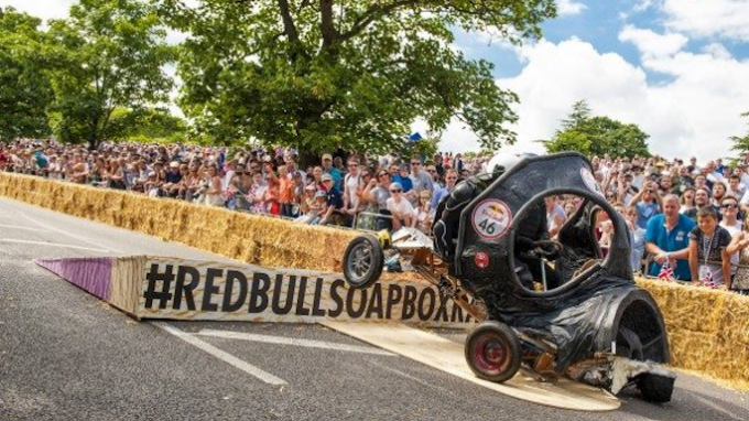 Red Bull Soapbox Race @ Austin Ranch in The Colony