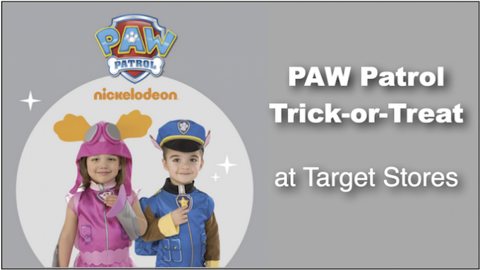 Trick or Treat at Target Stores @ Area Target Stores