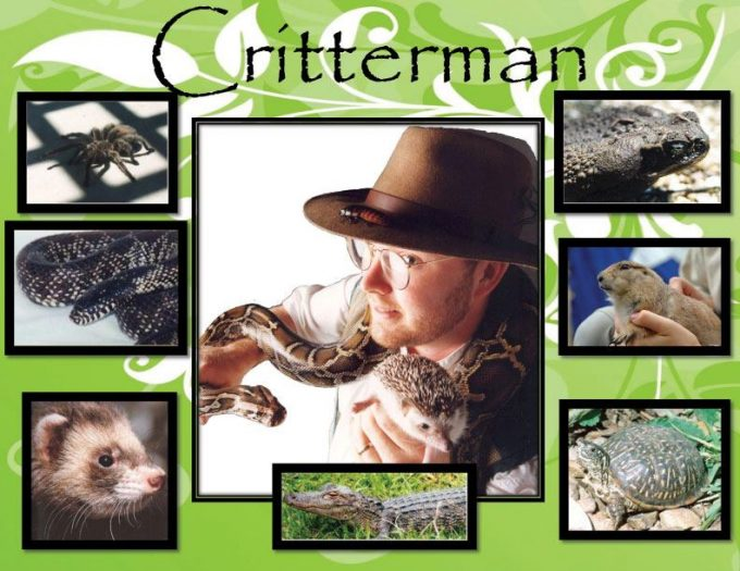 Critterman in Coppell @ Biodiversity Education Center