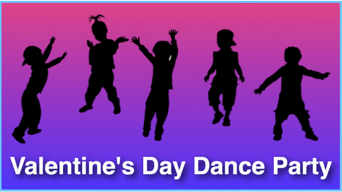 Valentines Day Dance Party @ Lewisville Library