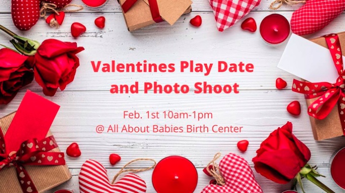 Valentines Play Date and Photo Shoot @ All About Babies