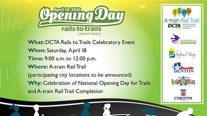 DCTA Rails to Trails Opening Day @ Hebron Station