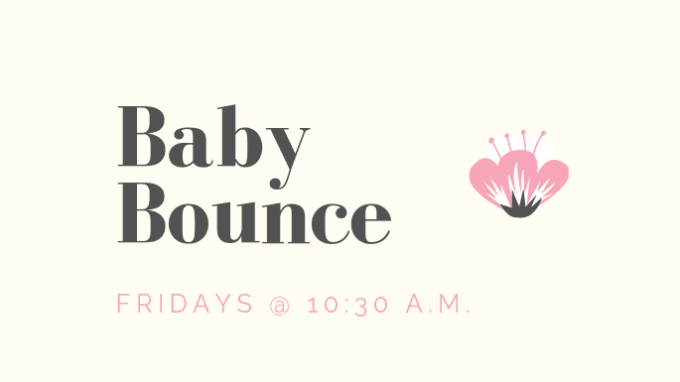 Baby Bounce @ Lake Dallas Library / Community Park