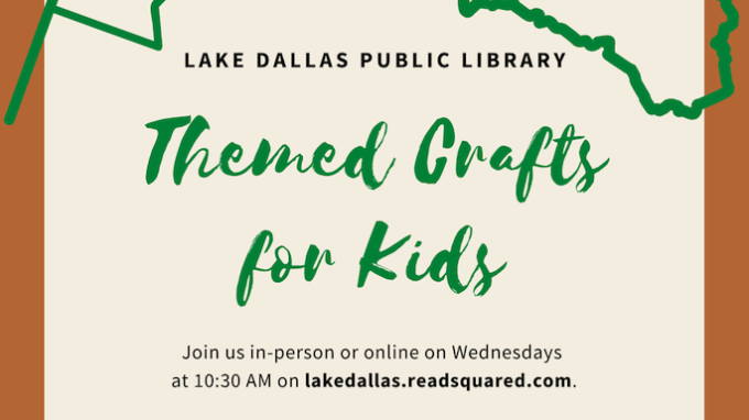 Themed Crafts @ Lake Dallas Library