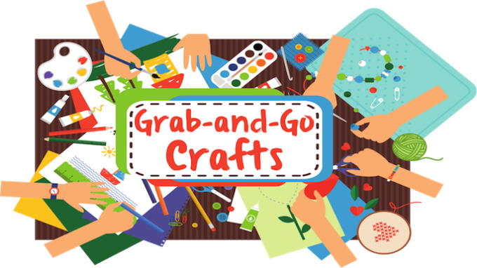 Grab-and-Go Crafts for Elementary @ Flower Mound Library