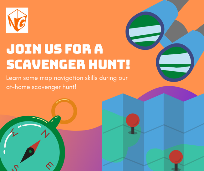 Virtual Scavenger Hunt - Free Class (Ages 6-10) @ Online at your home