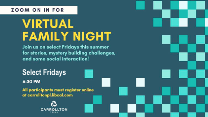 Virtual Family Night @ Virtual / Online