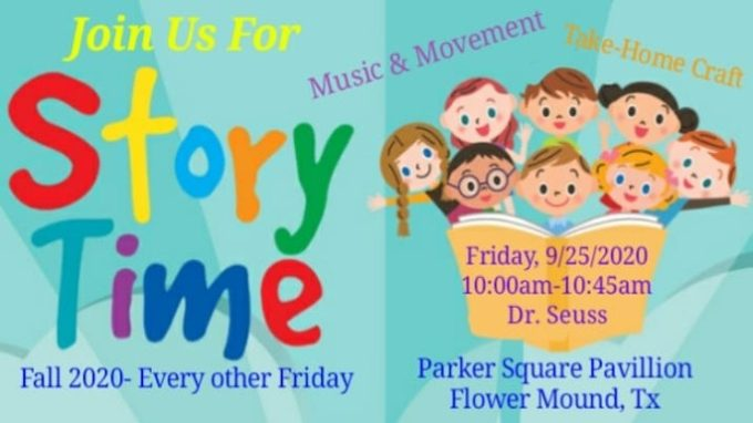 Storytime in the Square @ Parker Square