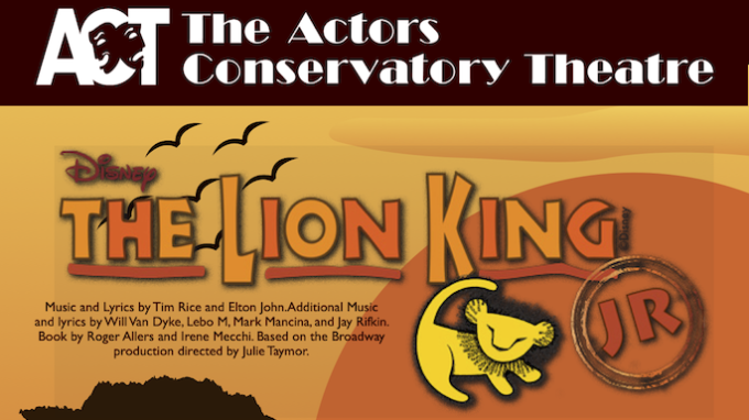 Lion King Jr Lewisville @ Virtual / Online