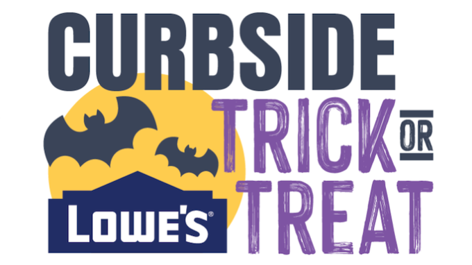 Lowes Curbside Trick or Treating @ Various - See Description
