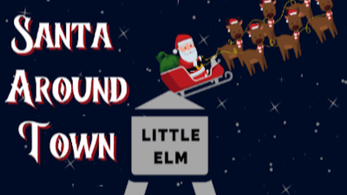 Santa Visits Little Elm Neighborhoods @ Various - See Description